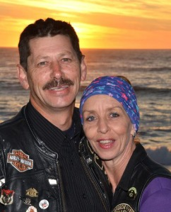 Helen Gooderson with her RADster husband, Rob Gooderson